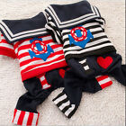 Pet Puppy Dog Cat Coat Clothes Hoodie Sweater Costumes Size XS-L for two colour