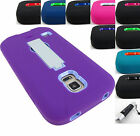 FOR SAMSUNG GALAXY S V 5 S5 ACTIVE/SPORT DUAL LAYER IMPACT CASE COVER+STYLUS/PEN