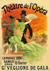 AP142 Vintage 1896 French Carnival Theatre Opera Advertisement Poster A2/A3/A4