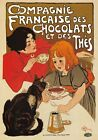AP136 Vintage French Chocolate And Tea Advertisement Poster Print A1/A2/A3/A4