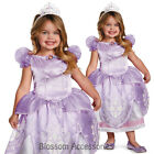 CK176 Disney Sofia The First Deluxe Fancy Child Toddler Girl Book Week Costume