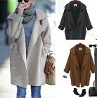 Hotsale Women's Long Sleeve Loose Sweater Knit Cardigan Coat Outwear Wraps -CB