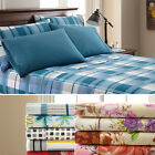 6pc Palazzo Home Sheet Set Microfiber Deep Pocket Wrinkle-Free Print Pattern