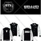 KPOP BTS Baseball Jumper Uniform Bangtan Boys In Bloom Varsity Jacket Coat
