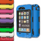 Hard Armour Case  Cover for Apple iPhone Black 3G 3GS