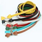 New Women's Ladies PU Leather Butterfly Knot Buckle Skinny Slim Belt Strap Belts
