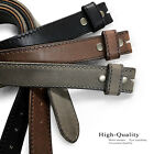 """E051 Men's 100% Italian Leather Dress Casual Golf Belt Strap Made in Italy 1.5"""""""