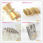 High Quality 14k Yellow /White Gold Filled DIY Jewelry Making Findings/1 pcs