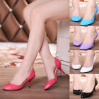 Womens Candy Color Kitten Heel Classic Pumps Cutout Sexy Office Prom Smart Shoes