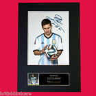 LIONEL MESSI #2 Argentina Signed Autograph Mounted Photo Repro A4 Print 503