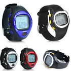 UK Pulse Heart Rate Monitor Stopwatch Alarm Calories Counter LED Fitness Watch