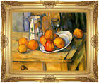 Framed Still Life by Paul Cezanne Painting Reproduction Canvas Giclee Art Print