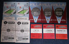 English League/Cup Matches Programmes 1960-1970 Season Please Select From
