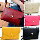 Fashion Womens Cross-body Shoulder Bag Cute Girls Small PU Leather Bag