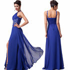 New Long Chiffon Bridesmaid Formal Gown Ball Party Cocktail Evening Prom Dress q
