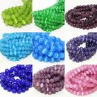 4MM 6MM 8MM 10MM Cat's Eye Gemstone Round Loose Beads