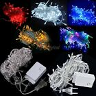 US/EU Lights Decorative Christmas Party Festival Twinkle String Lamp 10M 100LED