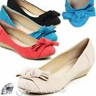 New Low Shoes Wedge Heel Pumps Women's Ballerinas Shoes Ballerinas Wedges