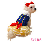 Snow Princess Halloween Dog Pet Costume Apparel Outfit Dress