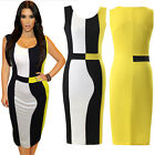 Size 6-1618 New Celeb Womens Bodycon Pencil Cocktail Bandage Evening Party Dress