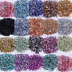 2000pcs Acrylic Half Round  Beads Flatback  Rhinestone Bead 2/3/4/5mm 18 color