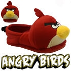 MENS ANGRY BIRDS 3D NOVELTY COMFORT FLAT WARM WINTER CASUAL SLIPPERS MULES SIZE
