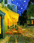 Cafe Terrace at Night on the Place du Forum by Vincent Van Gogh Repro Art Print