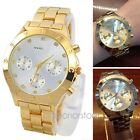 1 Piece Stainless steel Watches With Diamond Quartz Wrist Watch Women Lady Girl