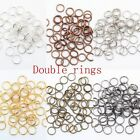200-450 Pcs Metal Split Rings 4/5/6/8/10/12mm Lots Jewelry Making DIY