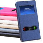 FLIP S-VIEW LEATHER CASE ULTRA THIN MAGNETIC COVER FOR SAMSUNG GALAXY S5 MINI