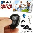 Bluetooth Remote Camera Control for iPhone iPad Android + Phone Stand & Keyring