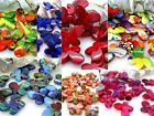 22x29mm 8pcs RANDOM PAINT GRAPHICS ACRYLIC LUCITE BUTTERFLY BEADS TY03430