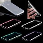 0.3mm Thin Crystal Clear Soft Silicone Fitted Case Skin Cover For iPhone 6 4.7""