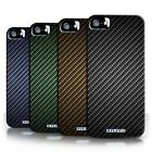 STUFF4 Phone Case/Back Cover for Apple iPhone 5/5S /Carbon Fibre Effect/Pattern