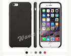 "New Frame Luxury Leather Back Case Slim Protect Cover For iPhone 6 (4.7"")"