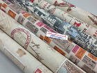 100% cotton designer vintage curtain/ clothing fabric 140cm wide,50cm/100cm