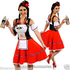 K4 Oktoberfest Costume Fancy Dress Up German Heidi Dirdnl Leiderhosen Beer Maid
