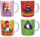 The Muppets Ceramic Mug - Kermit/Animal/Fozzie/Piggy - New Official Disney