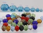 New Multicolor Crystal Loose Beads Spacers 6mm to 18mm U choose
