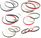 Zest Set of 3 1cm Skinny Alice Bands Hair Accessories