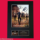 ONE REPUBLIC Quality Autograph Mounted Signed Photo PRINT A4 210 x 297mm