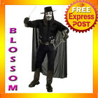 C337 Licensed V for Vendetta Deluxe Halloween Fancy Dress Adult Costume