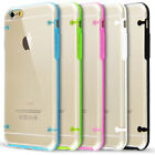 SILICONE CLEAR HARD BACK TPU BUMPER CASE COVER FOR NEW APPLE IPHONE 6 4.7""
