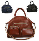 New Women's genuine cow leather shoulder bag handbag tote messenger Gift purse Y