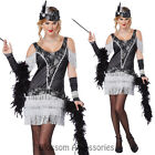 CL31 Razzle Dazzle 1920s Flapper Charleston Chicago Adult Fancy Dress Costume