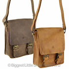 NEW MENS LADIES Compact Buffalo LEATHER Cross Body BAG by Rowallan of Scotland