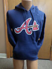 MLB Atlanta Braves Majestic Hooded Sweatshirt New With Tags on Ebay