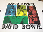 DAVID BOWIE COLORED SQUARES COLLAGE T-SHIRT NEW !