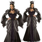 CL47IN Deluxe Wicked Queen Snow White Gothic Evil Halloween Womens Costume