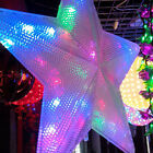110V Big Pentagram String Fairy Light LED Lamp For Decoration Wedding Colorful
